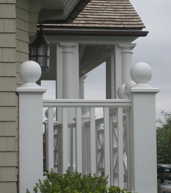 Paag Lane Pool House  Ext. Detail